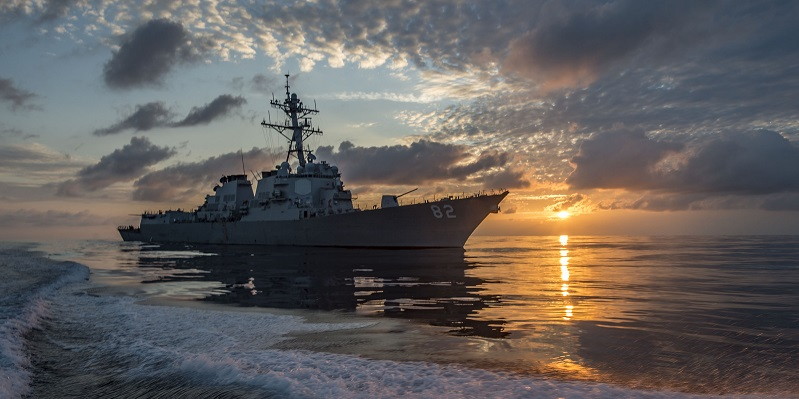 The guided-missile destroyer USS Lassen (DDG 82) in the eastern Pacific Ocean, March 2016. U.S. Navy photo by Petty Officer 2nd Class Huey D. Younger Jr.